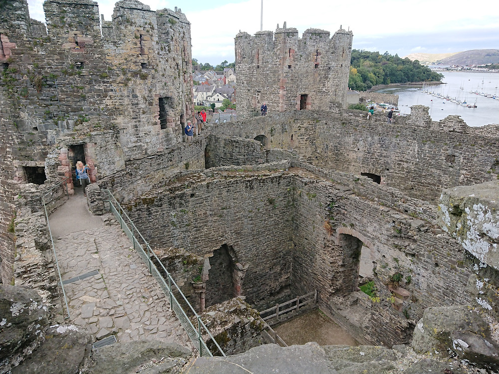 Conwy Castle, Conwy , North Wales, built by the King of England Edward I Longshanks
