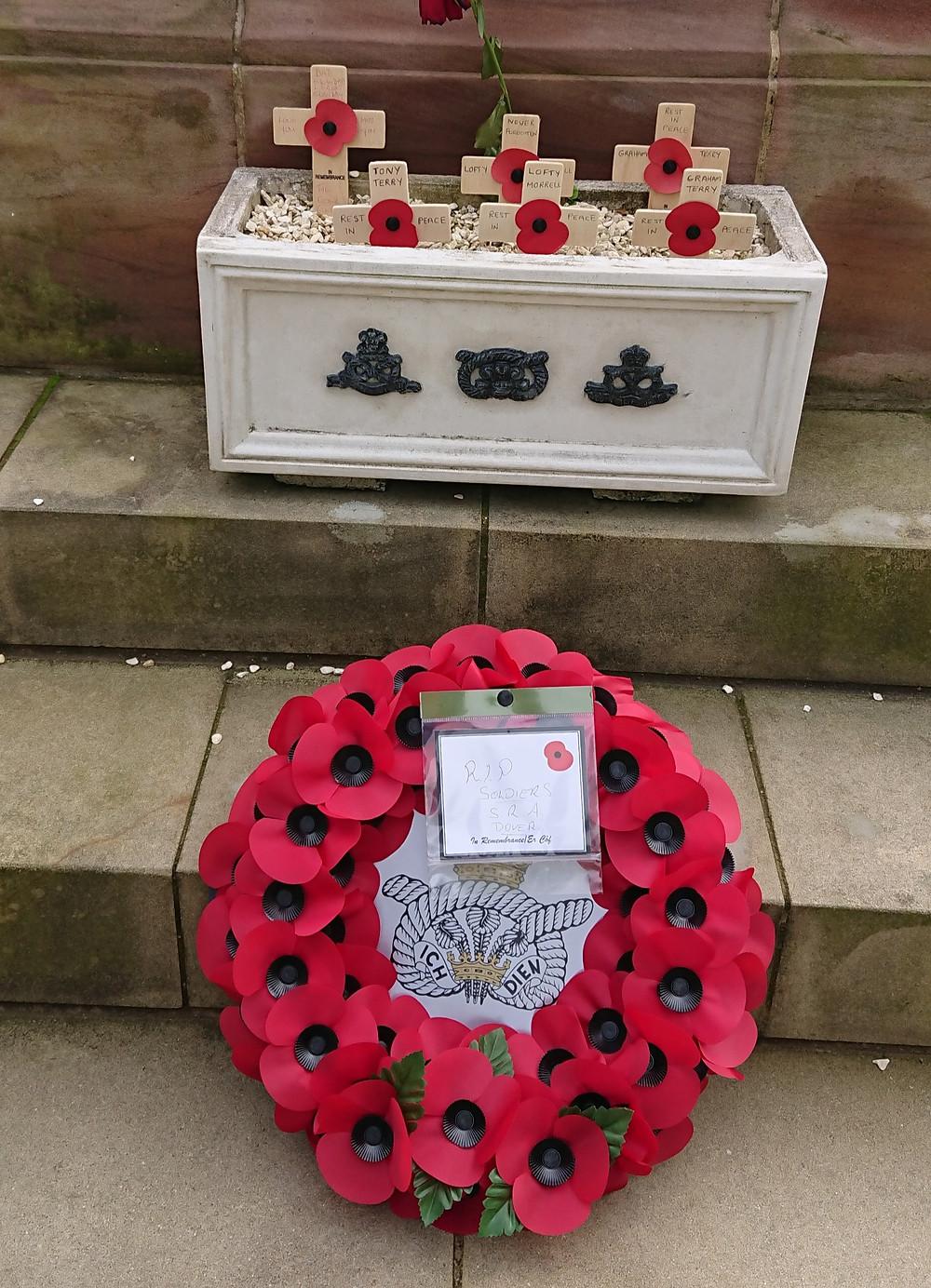 Poppy Wreath at The National memorial arboretum