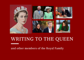 Writing to the Queen