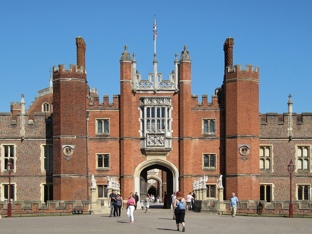 Hampton Court - The Great Gate