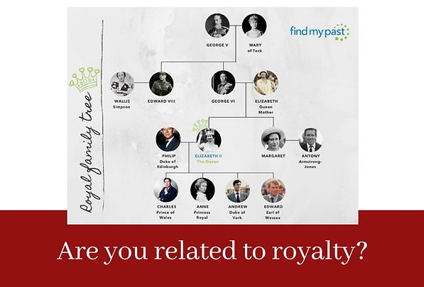 Are you related to royalty - blog.