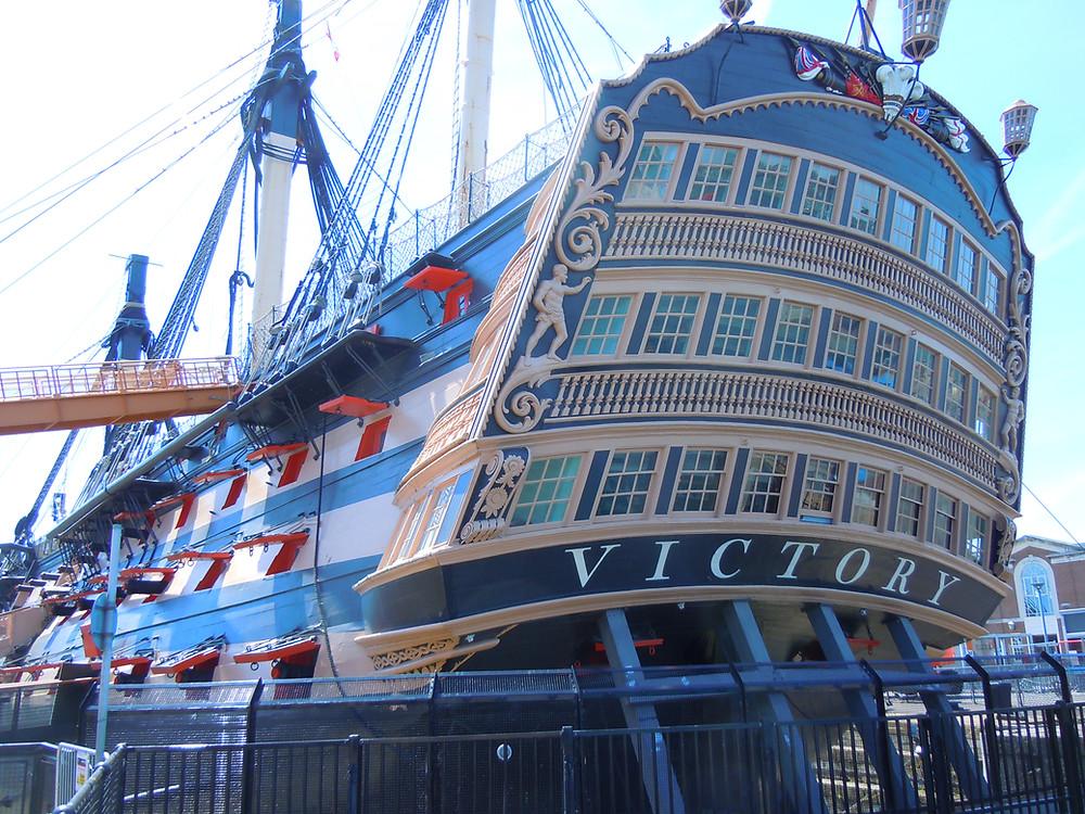 HMS Victory, Historic Dockyards, Portsmouth. Photo by Lee Stuart Sherriff. 2018