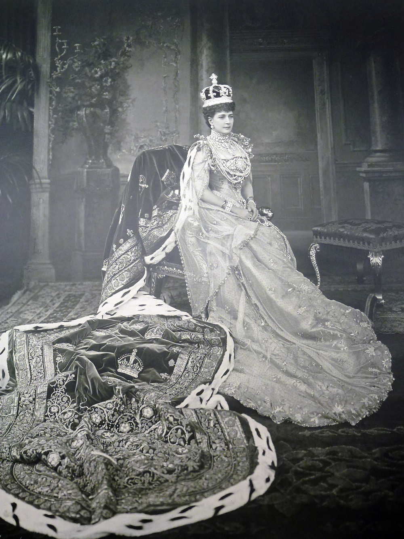 Queen Alexandra (1844-1925) 9 Aug 1902;RCIN 2510512, Royal Collection Trust/© Her Majesty Queen Elizabeth II 2018