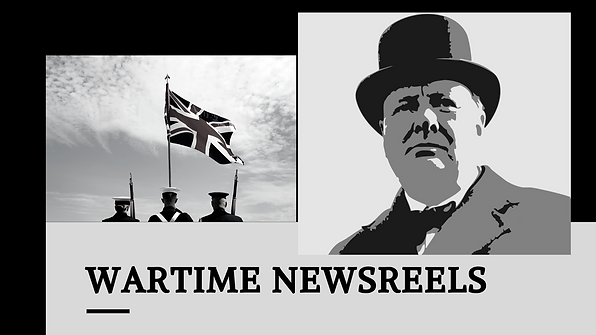 Wartime newsreels, Winston Churchill, British Armed Forces