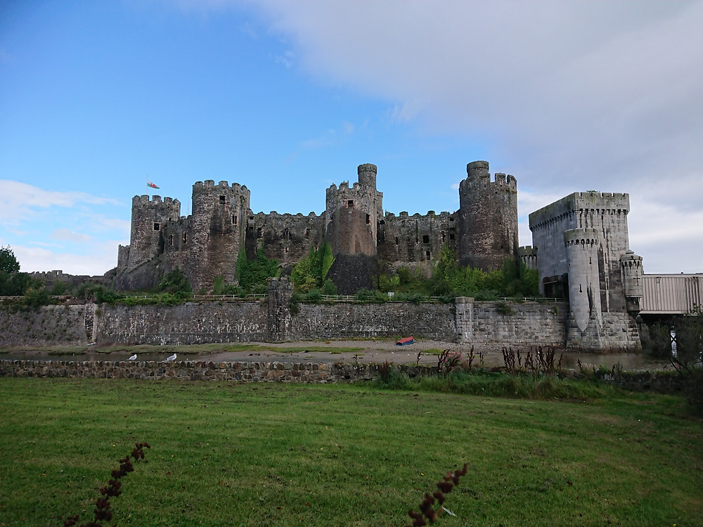 Conwy Castle, Conwy, North Wales. The medieval castle was built by Edward I king of England