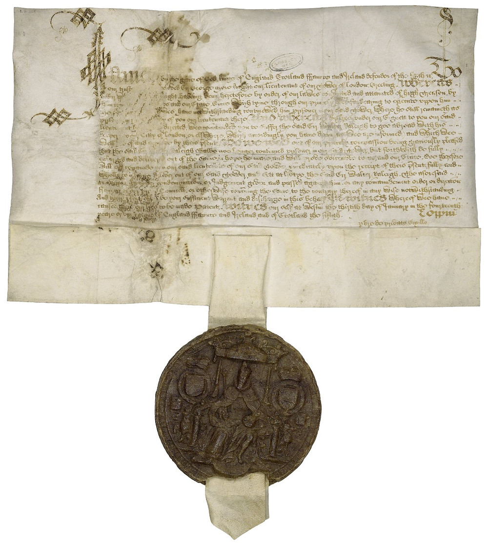 By James I of England and VI of Scotland [CC BY-SA 4.0  (https://creativecommons.org/licenses/by-sa/4.0)], via Wikimedia Commons