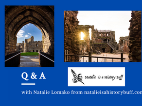 Q & A with Natalie Lomako from www.natalieisahistorybuff.com