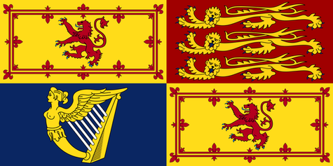 Royal Standard used in Scotland