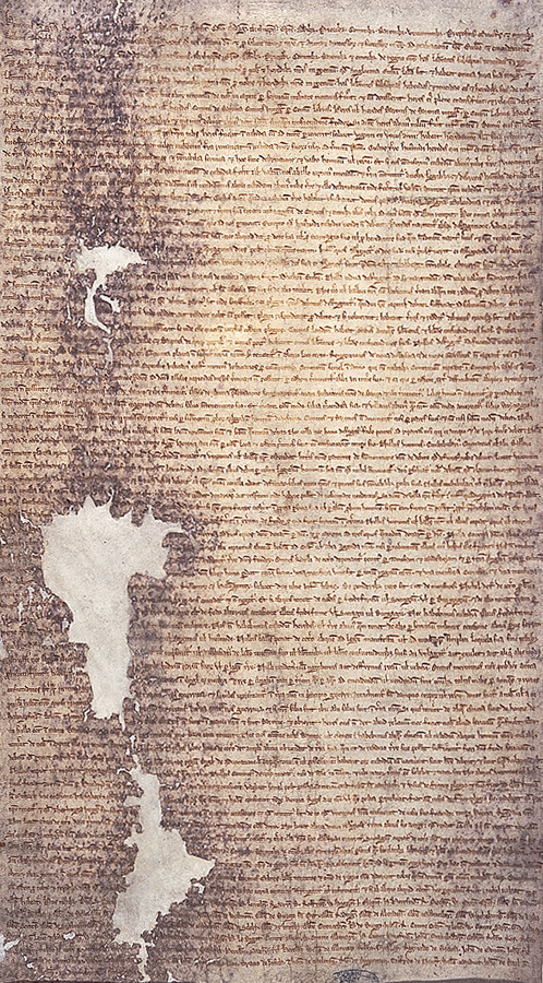 English: The 1225 version of Magna Carta issued by Henry III of England.