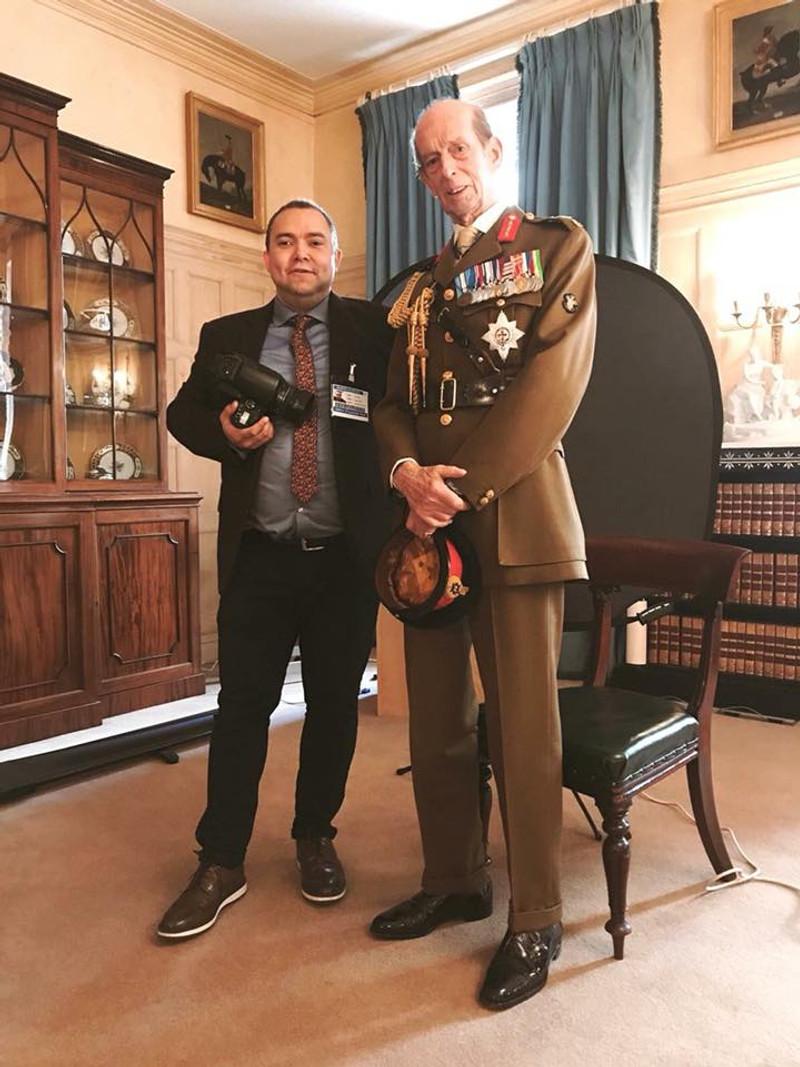 Rory Lewis & HRH the Duke of Kent
