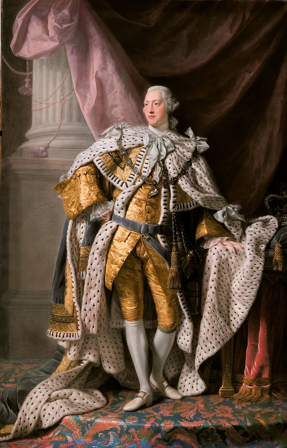 George III coronation portrait
