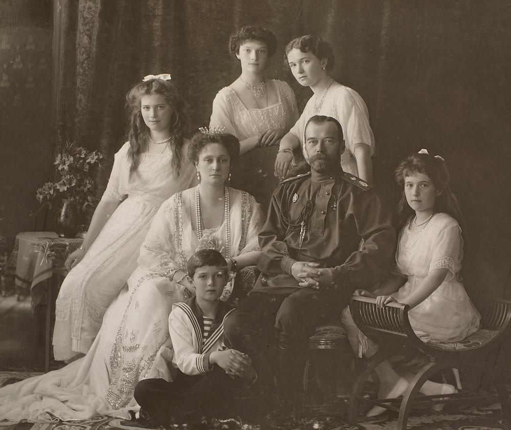 Nicholas II, Emperor of Russia & his family 1913. Royal Collection Trust/© Her Majesty Queen Elizabeth II 2020