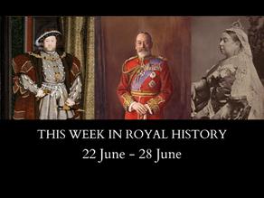 This Week in Royal History