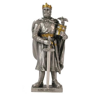 King Arthur resin knight