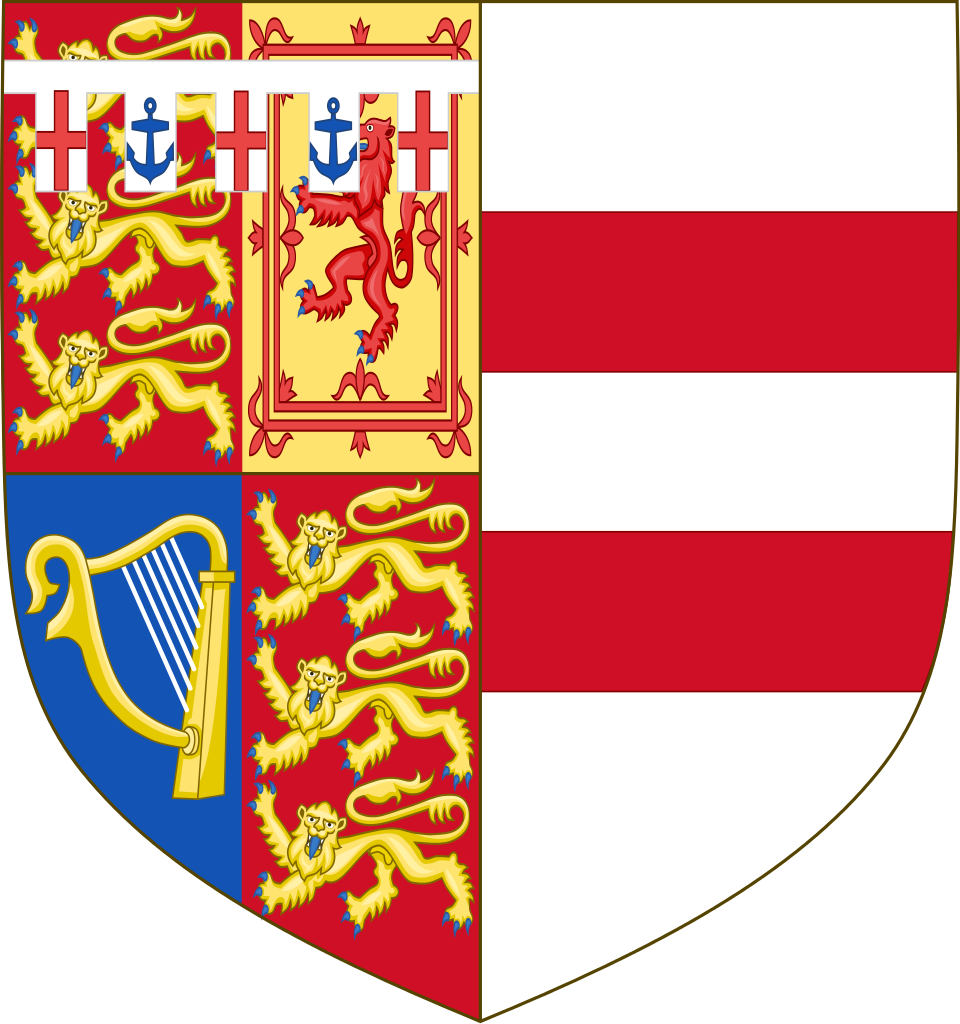 Princess Michael of Kent (born Baroness Marie Christine von Reibnitz (born 1945), & the wife of Prince Michael of Kent. Arms of Princess Michael of Kent, depicting her husband's arms impaled with her patrilineal von Reibnitz coat of arms.
