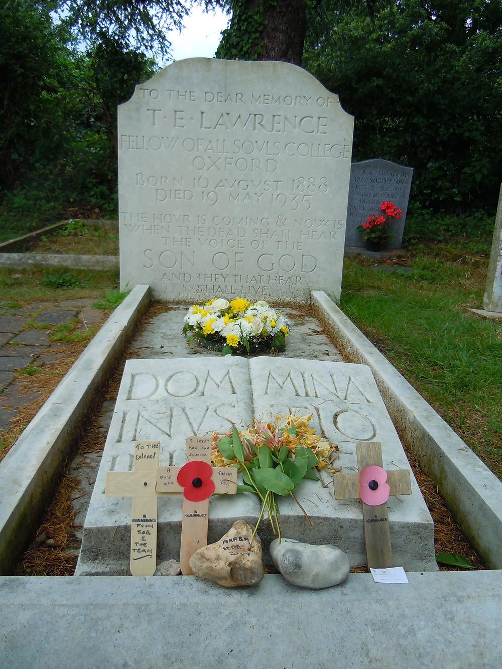 T.E Lawrence (Lawrence of Arabia) grave, Moreton Village
