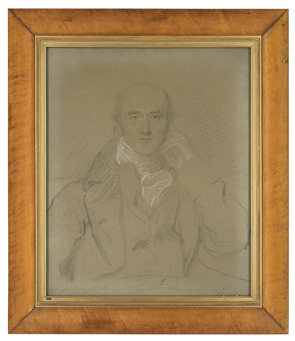 Thomas Lawrence, P.R.A. (1769-1830)  Portrait of George Canning, M.P. (1770-1827), half-length, seated .Fine art. Royal family. politics. Artwork. Christies.com