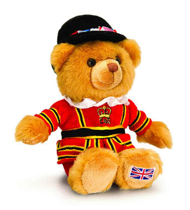Beefeater cuddly toy