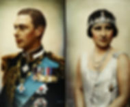 Royal blog cover photo of George VI & Queen Elizabeth
