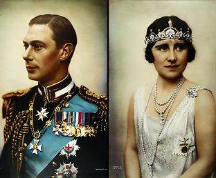 Royal blog cover photo of George VI & Queen Elizabeth