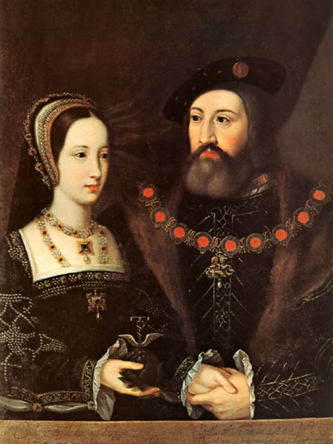 Mary Tudor and Charles Brandon