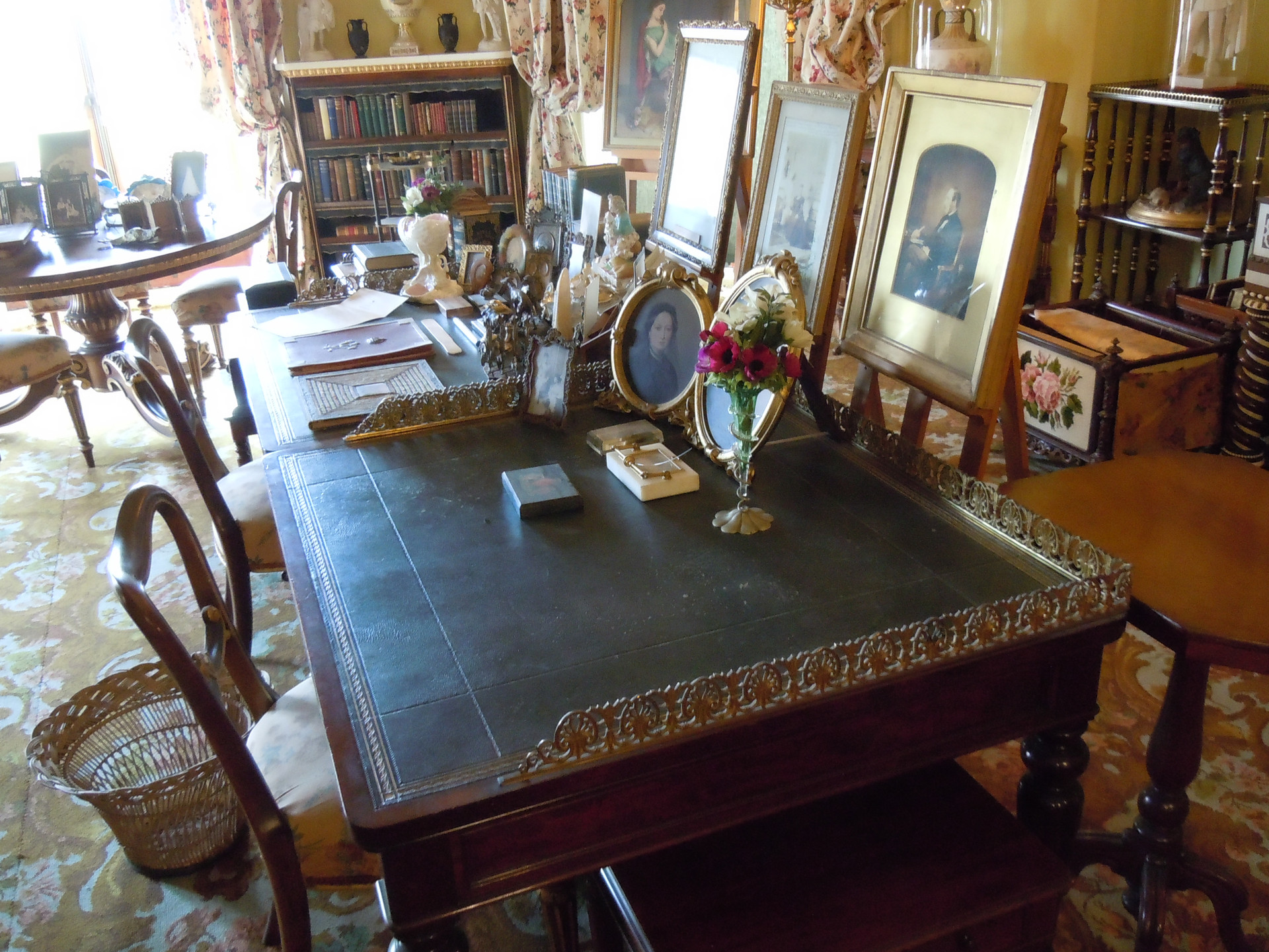 Queen Victoria's study at Osborne house