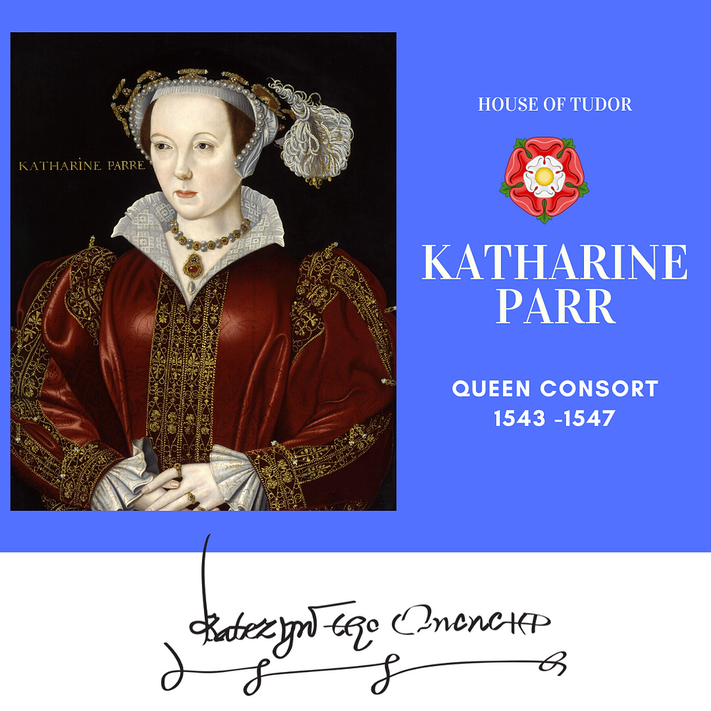 Katharine Parr, the sixth wife of king Henry VIII of England
