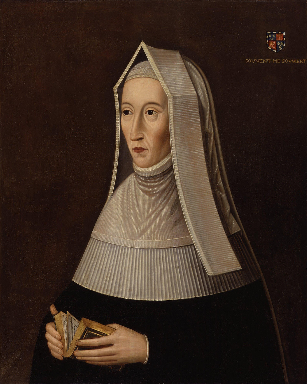 Lady Margaret Beaufort, mother of the first Tudor king, Henry VII, & grandmother of Henry VIII