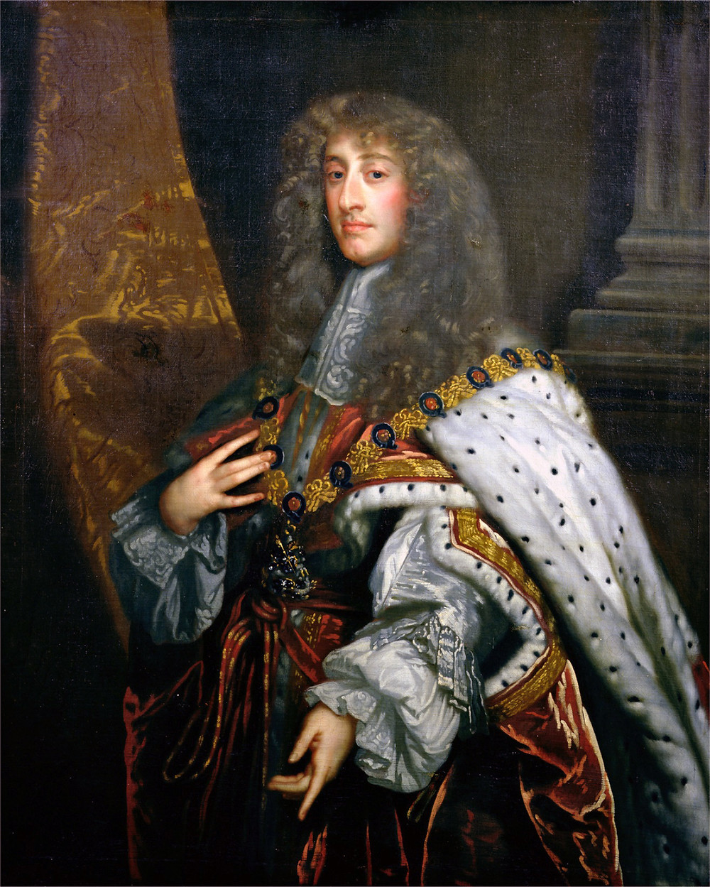 James II, king of England 1685-1688. Stuart king who was deposed during the Glorious revolution by his son-in-law William III, Prince of Orange.
