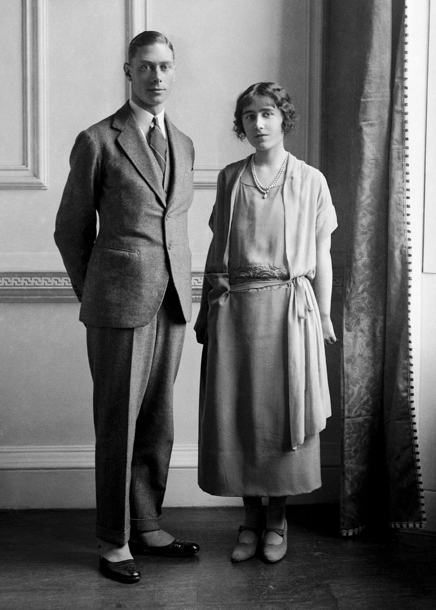 photograph of the Duke & Duchess of York, later king George VI & Queen Elizabeth,