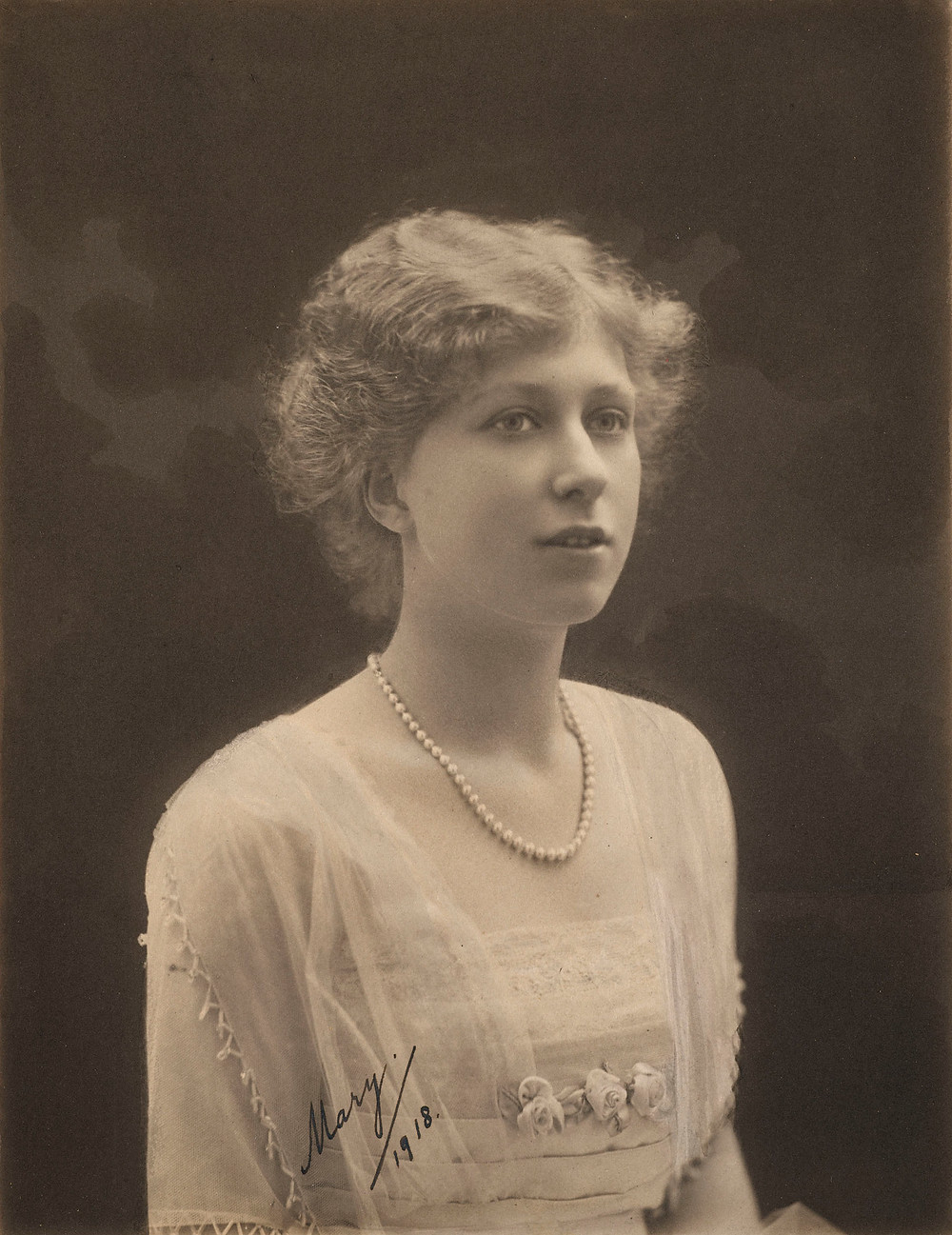 Princess Mary, later The Princess Royal and Countess of Harewood (1897-1965)  1918