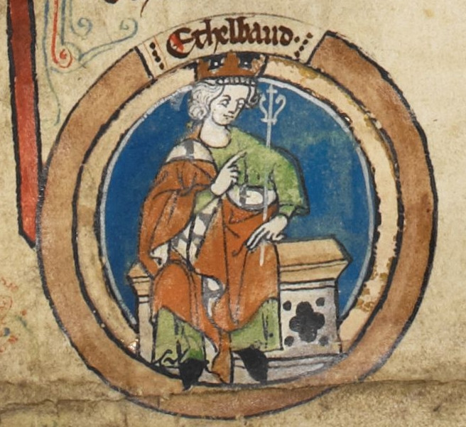 Æthelbald, of Wessex. Anglo-Saxon king