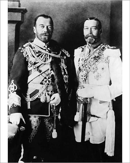 George V & Tsar Nicholas II