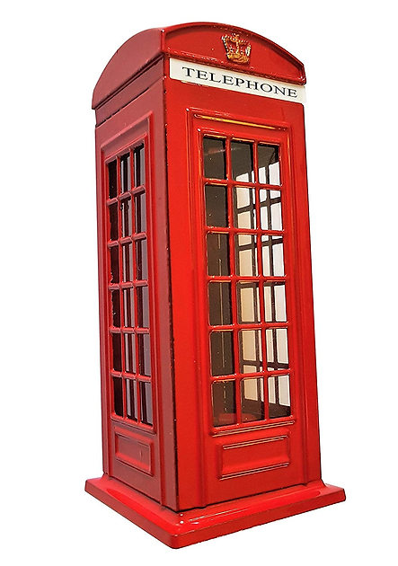 London telephone money box