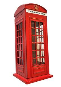 London telephone money box