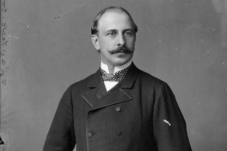Francis, Duke of Teck, great grandfather of Queen Elizabeth II