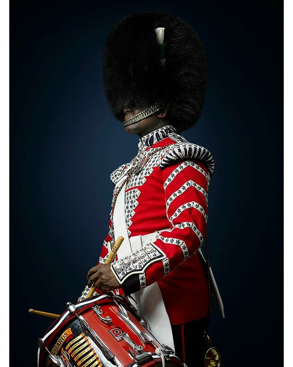 Winner of Portrait of Great Britain 2020 by Rory Lewis, Welsh Guards Soldier