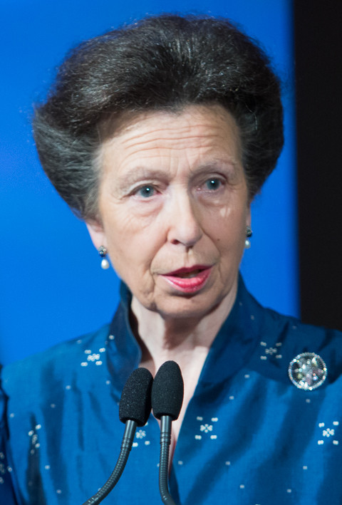 Princess Anne, the Princess Royal. Chatham House / CC BY (https://creativecommons.org/licenses/by/2.0)