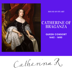 Catherine of Braganza, Queen of England as the wife of King Charles II