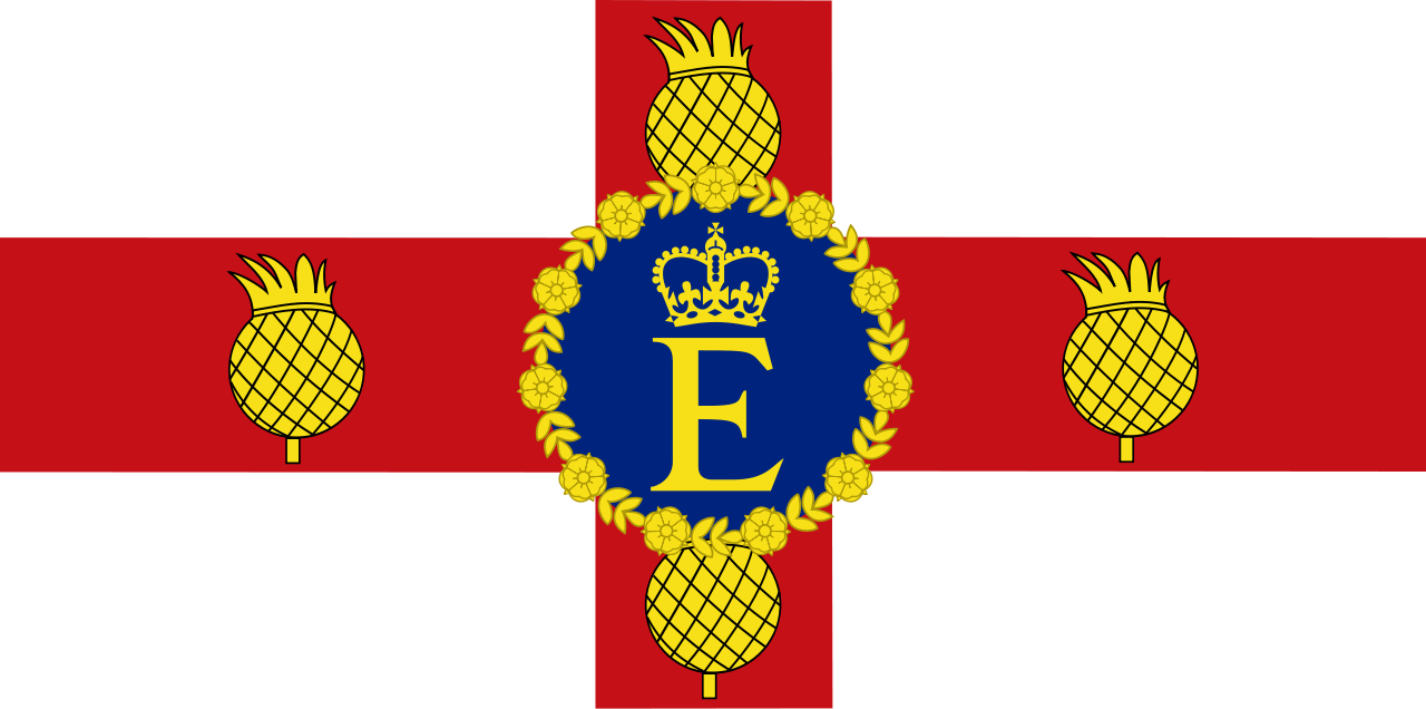 The Queen's personal flag of Jamaica