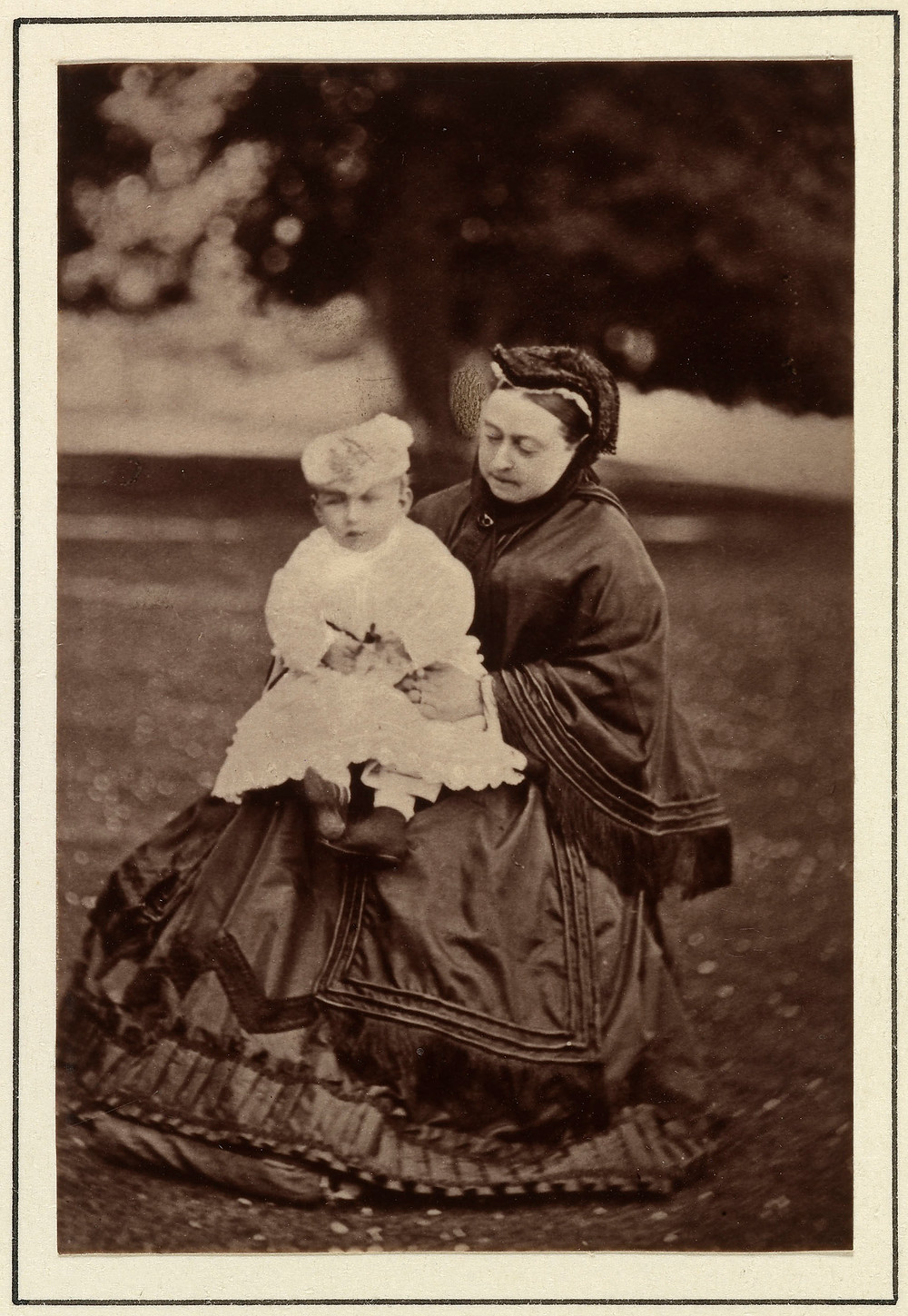 Queen Victoria with her grandson, Prince Christian Victor, 1868 Royal Collection Trust/(c) Her Majesty Queen Elizabeth II 2018