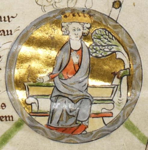 Anglo-Saxon King, Edmund I, king of the English 939-946