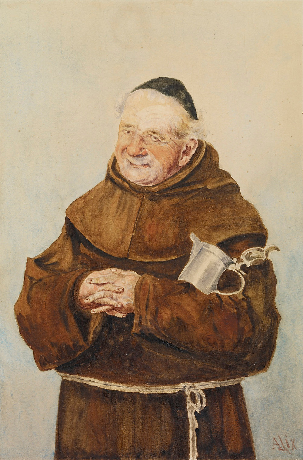 A Monk by Queen Alexandra,  Royal Collection Trust/© Her Majesty Queen Elizabeth II 2018