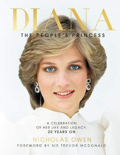 Diana, The Peoples princess hardback book