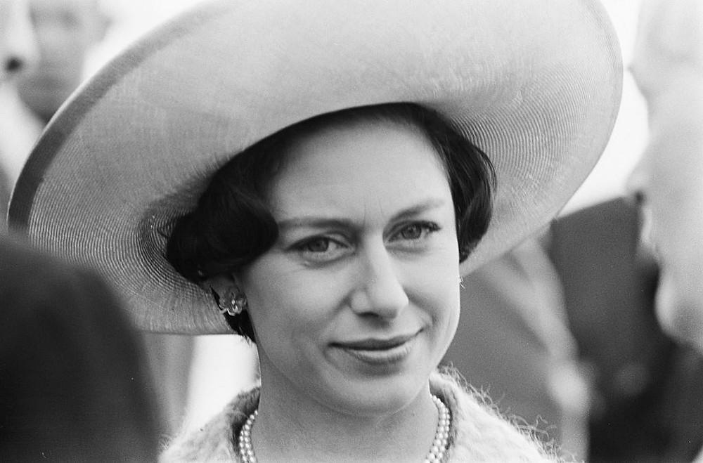Photo of Princess Margaret source- By Koch, Eric / Anefo [CC BY-SA 3.0 nl (https://creativecommons.org/licenses/by-sa/3.0/nl/deed.en)], via Wikimedia Commons
