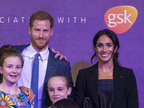 Harry & Meghan meet families at the WellChild Awards in London