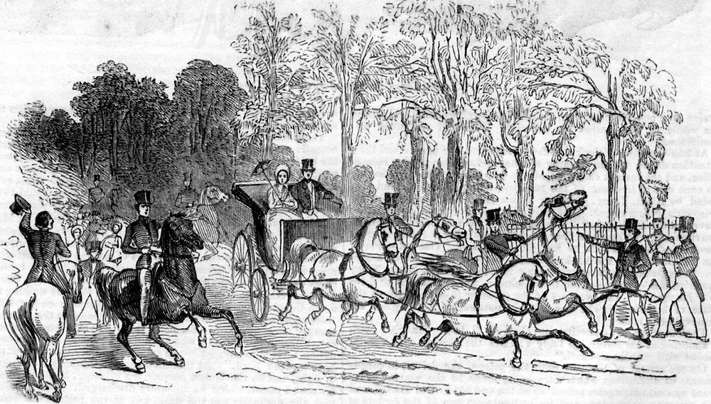 John Francis shoots at Queen Victoria in 1842
