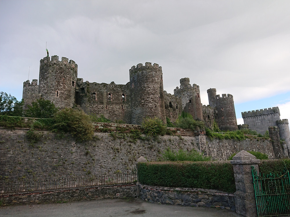 Conwy Castle, Conwy in North Wales built by Edward I, king of England