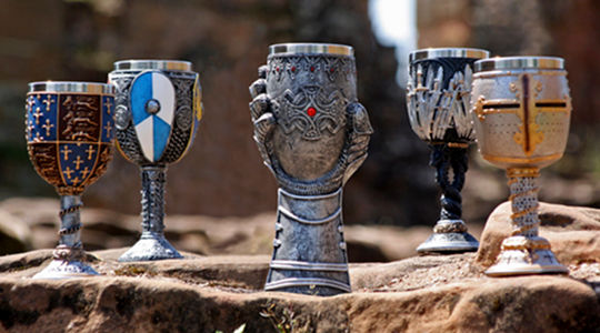 goblets and tankards link banner to te English Hertage sho