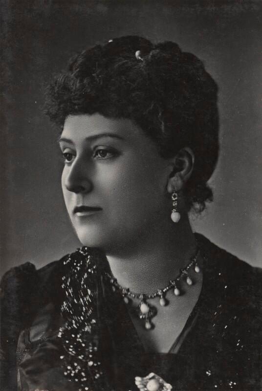 Princess Helena Augusta Victoria of Schleswig-Holstein  by Lafayette bromide print, 1890s